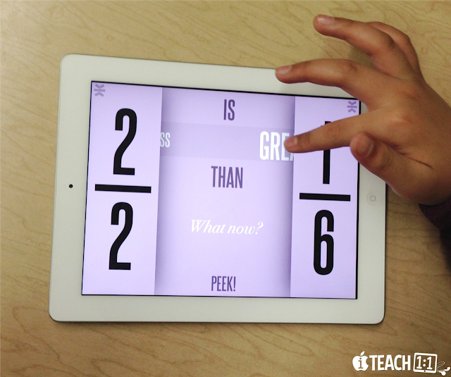 Free Fraction iPad Apps & Activities. I