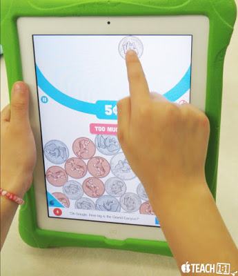 Best FREE money apps & activities for kids to use on the iPad. Teachers, make learning counting coins easier on yourself and fun for your students by adding a technology twist! Also check out these engaging digital and QR code activities for your math centers.