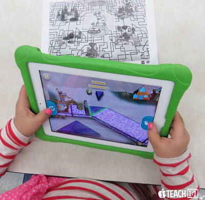 Best FREE geometry apps & activities for kids to use on the iPad. Teachers, make learning geometry concepts (2D and 3D shapes, angles, etc.) fun and hands on for your students by adding a technology twist!